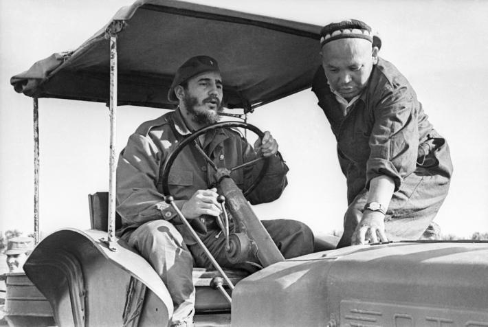 Фидель Кастро в Узбекской ССР, 1963