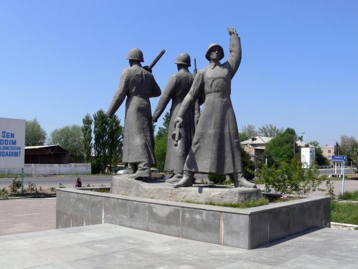 Памятник в Той-Тепе, 2010 год