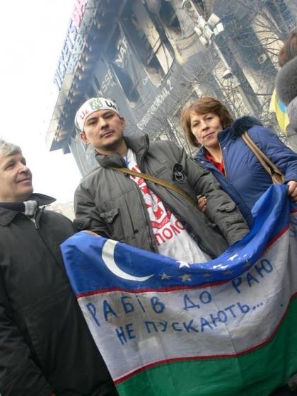 Шавкат - українець по духу, узбек за родом та проживаням. Фото - Рома Амор